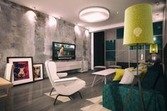 Interior for Ibizza Hotel in Armenia, Yerevan. Architect-Designer Abgeliak Karapetyan.