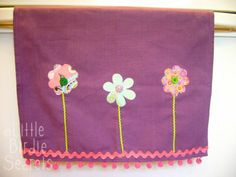 Make Your Own Chic Embellished Tea Towels | Make and Takes