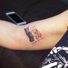 Tatuagens de gatos 9