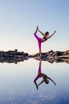 Beautiful in every level, and that reflection! <3 @nude_yogagirl