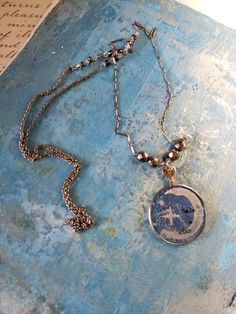 Make A Wish, How To Make, Lenses, My Etsy Shop, Take That, Pendant Necklace, Chain, Beads, Antiques