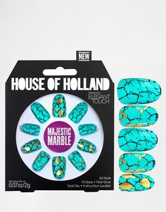 Elegant Touch | House Of Holland Nails By Elegant Touch - Majestic Marble
