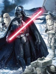 Darth Vader/ Snow troopers