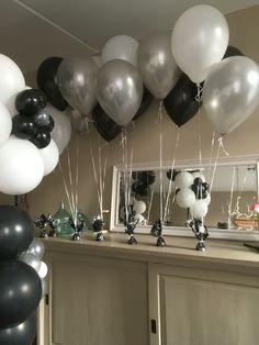Helium ballonnen tafelversiering