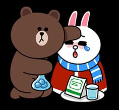 10 gambar brown line lucu gambar top 10 humor pinterest brown brown and cony are back and this time theyre cuddling up for winter altavistaventures Gallery