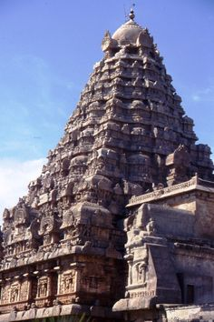 Gangai-Konda-Cholapuram Temple in the city that was founded by Rajendra Chola to commemorate his victory over the Pala Dynasty, Thanjavur, Tamil Nadu, India