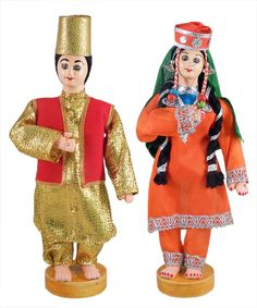 Kashmiri Couple (Cloth)