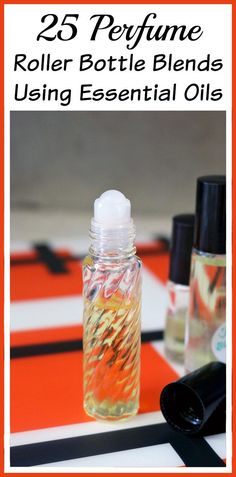 Store-bought perfumes often contain toxins that can cause allergic reactions. Luckily you can easily make your own natural perfume roller bottle blends! DIY Beauty, Popular Pins