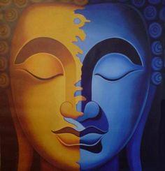 Sun and Moon Buddha 1196425944m