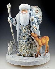 One with Nature Russian Santa Composition | santas.com