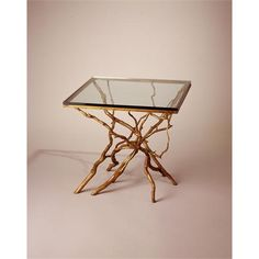 Square Branch Table by Joan Sherman on HomePortfolio