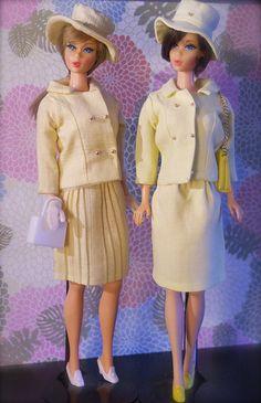 Vintage Barbie - Twist n' Turn Barbie and Hair Fair Barbie