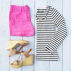 oh i love this preppy nautical look!
