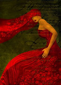 Blown Away by Imber Red Art, Pics Art, Shades Of Red, Love Art, Bunt, Lady In Red, Red Green, Favorite Color, Art Photography