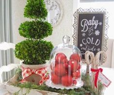Adventures In Decorating Whimsical Christmas Kitchen Christmas Town, Merry Christmas Everyone, The Night Before Christmas, Family Christmas, Simple Christmas, All Things Christmas, Christmas Decorations, Christmas Ornaments, Holiday Decor