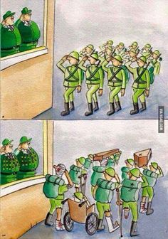 Funny pictures about The Ugly Truth Of War. Oh, and cool pics about The Ugly Truth Of War. Also, The Ugly Truth Of War photos. Pictures With Deep Meaning, Art With Meaning, Reality Of Life, Reality Quotes, Satire, Satirical Illustrations, Meaningful Pictures, Powerful Pictures, Amazing Pictures