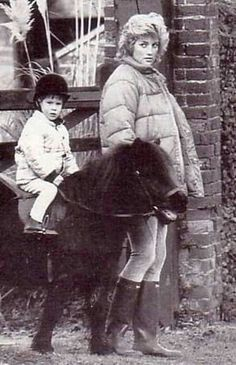 Princess Diana with Prince William and a pony. Enjoy RUSHWORLD boards, DIANA PRINCESS OF WALES EXTENSIVE PHOTO ARCHIVE and UNPREDICTABLE WOMEN HAUTE COUTURE. Follow RUSHWORLD! We're on the hunt for everything you'll love!