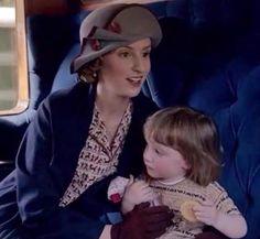Downton Abbey: Edith and Marigold.