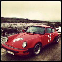 Rali invierno 2014 con un 911 turbo
