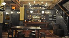 The sister bar to Houston Hall, Flatiron Hall is a beer lover's haven!
