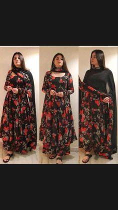 Casual Indian Fashion, Indian Fashion Dresses, Girls Fashion Clothes, Fancy Dress Design, Stylish Dress Designs, Designs For Dresses, Party Wear Indian Dresses, Dress Indian Style, Simple Pakistani Dresses
