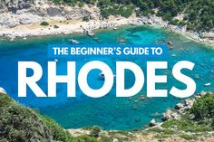 Looking for the best places to eat, play and stay in Rhodes? You're not going to want to miss this Beginner's Travel Guide to the Greek Island of Rhodes