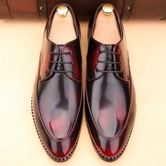 Europe Luxury Mens Pointed Toe Dress Shoes Flat Zapatos Hombre Black Gray  Wine Red Flat Dress c6e822e5a574