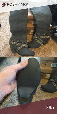 Not rated boots New never worn not rated boots Not Rated Shoes Heeled Boots