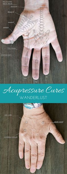 Natural pain remedies without pills or needles? Yes, please! #Acupressure #Wanderlust