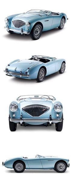 Great..... the best looking Austin Healey..... in the best colour! #austinhealey100