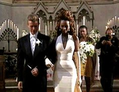 """ On June 6, 1992 David Bowie and Iman were married in a church service at the American Church of St James in Florence, Italy. [x] """