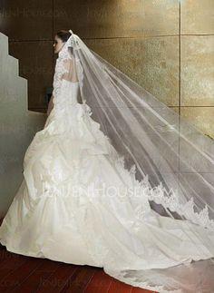 Wedding Veils - $47.99 - Wedding Veils (006004053) http://jenjenhouse.com/pinterest-g4053