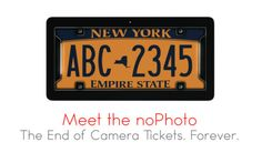 An Indiegogo project is marketing a license plate frame that will detect the strobes from red light cameras and use its own lights to keep your plates from being photographed.