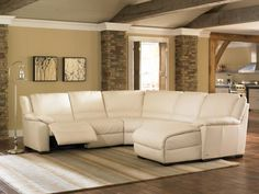 Natuzzi Editions Reclining Leather Sectional with Chaise : Colliers Furniture Expo My Living Room, Living Room Furniture, Home Furniture, Living Room Decor, Living Spaces, Furniture Movers, Deco Furniture, Antique Furniture, Coaster Furniture