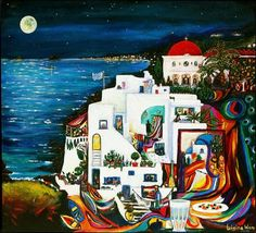 Greek Art Paintings