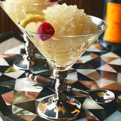ginger champagne granita more bubbly food champagne life granita ...