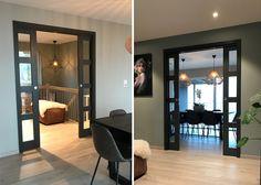 Bilderesultat for skyvedører glass innvendig Entrance, Indoor, Corridor, Living Room, Mirror, Glass, House, Furniture, Decoration