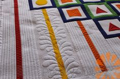 Image result for white space quilting