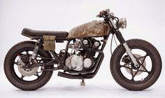 1978 SUZUKI GS550 'COUNTRY GENT' - CLOCKWORK MOTORCYCLES - MOTOSCOOLTURE
