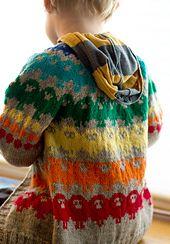 Ravelry: Children's Cardigan Where the Wild Sheep Roam pattern by Pinneguri