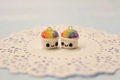 polymer clay | Polymer Clay Kawaii Snow Cones by *CharmStop on deviantART