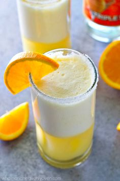 Creamy, citrus-y and