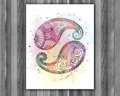 Pasley Art Prints printable poster by digitalaquamarine82 on Etsy