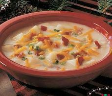 Diabetic Recipes - Diabetic Baked Potato Soup Recipe