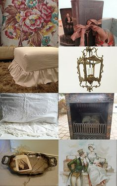 Bed and Breakfast ~ Vintage At Home by Kristin on Etsy--Pinned with TreasuryPin.com