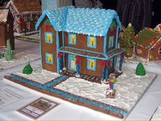 Held at The History Center each year during the November/December holiday season, the annual Festival of Gingerbread features hundreds of gingerbread creations, from those made by area grade school children to master bakers!
