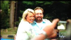 Ghost Mine owners. Larry and Stacie Overman
