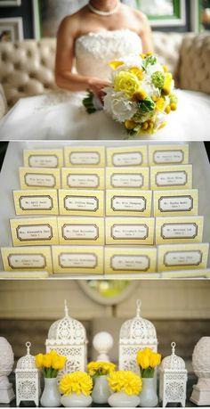 Yellow wedding bouquet :)