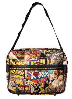 Marvel Comics Characters Messenger Bag