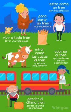 """En España existen muchas expresiones con la palabra """"tren"""". Por ejemplo, """"vivir a todo tren"""" se usa para decir que una persona lleva una vida llena de lujos."""
